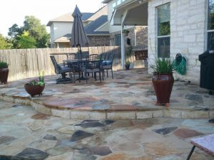 Flagstone Cleaning Sealing Services Texas Stone Sealers