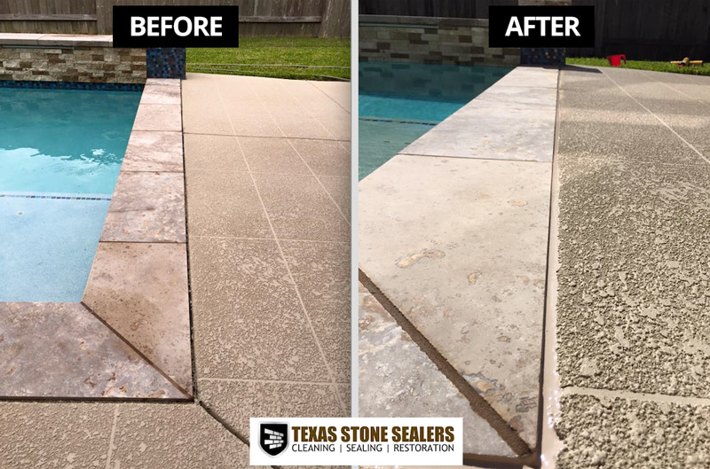 Before Amp After New Texas Stone Sealers