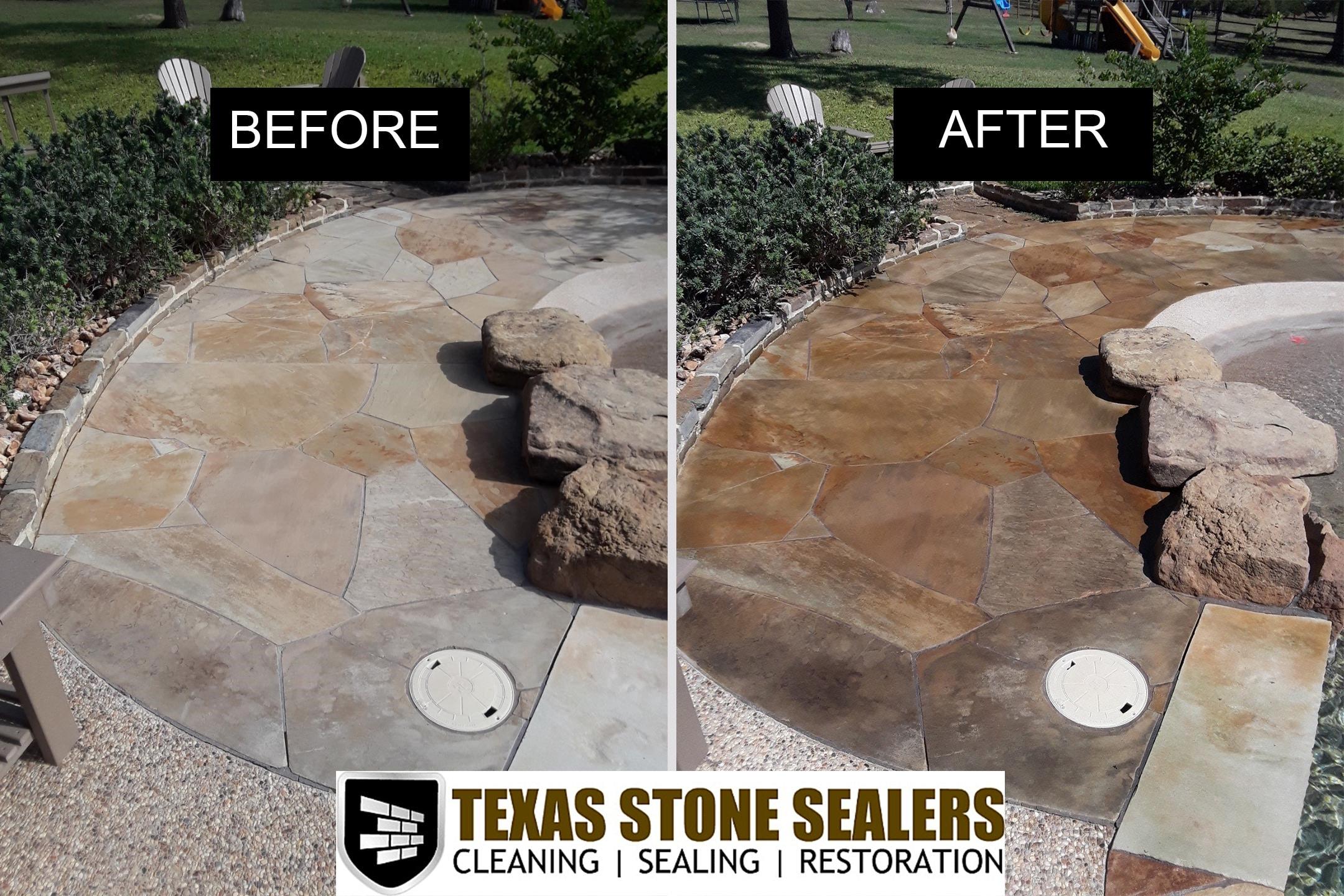 Houston TX How to Clean Stone